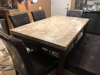 dining table with bench Elk Grove, 95624