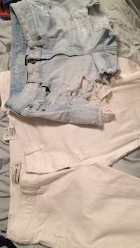 Abercrombie & Fitch shorts (3 pair) and (2 pair)jeans. ALL for $30