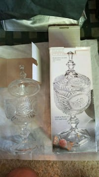 clear glass pitcher with box Vancouver, V5T 4J3