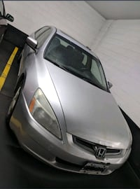 2003 Silver Honda Accord-Sold as Is 546 km