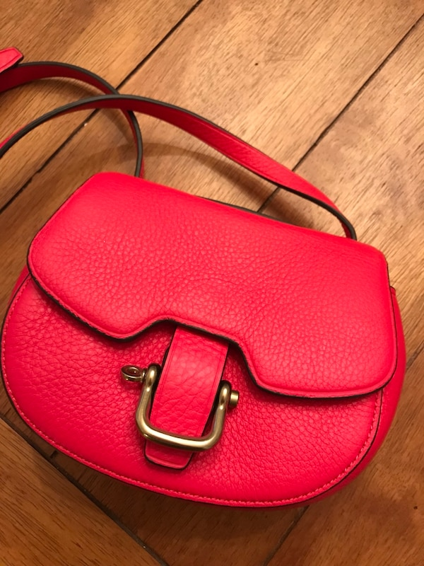 Red New J. Crew purse