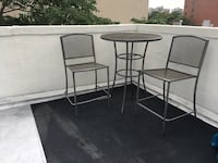 Outdoor bistro table and chairs  New York, 10014