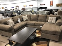 Sectional with chaise  Elgin