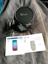 Colour changing iHome portable speaker Langley City, V3A 7Z7