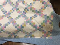 King size quilt.  Handmade in Nova Scotia. Brand new.