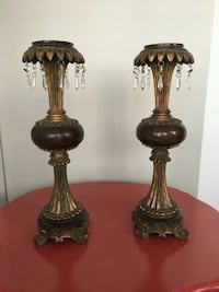 Beautiful Pair of Candle Holders