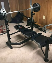 Black and gray bench press Woodbridge, 22193