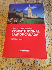 Constitutional Law Of Canada Pickering, L1X 2G1