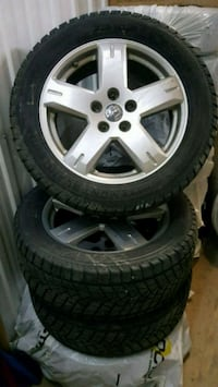 Dodge jouney mags with winter tires Laval, H7N 1C1