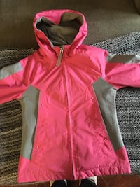 London fog pink and gray jacket size 7/8 Raleigh, 27604