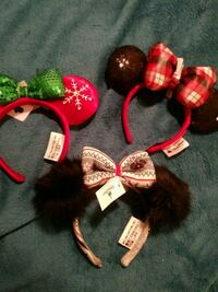 Disney Christmas Ears $15.00 Each Long Beach
