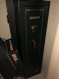 Stack on gun and valuables combination safe