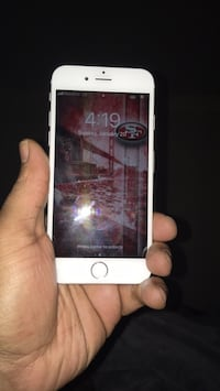 silver iPhone 6 with black case New Britain, 06053