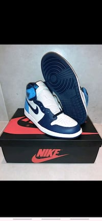 Air Jordan 1 Obsidian High UNC. Billig! Frogn, 1440