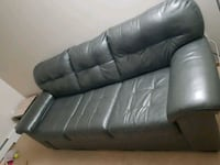 Leather 1 years old grey sofa  Division No. 11, S7M 3Z2