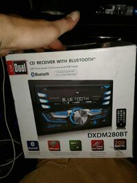 black CD Receiver with bluetooh box Roswell, 30075