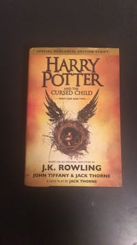 Harry Potter and the Cursed Child hardcover Toronto, M8Z 0E3