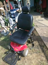 black and red motorized wheelchair Halethorpe, 21227