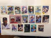 Montreal Expos Autographs for sale! Milford, 06460