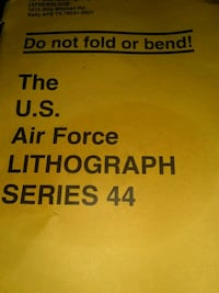 Air force Lithographs posters