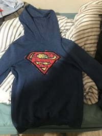 Super man Sweater in perfect condition Mississauga, L5J 4M5
