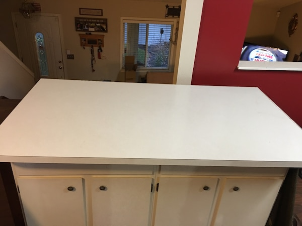 66 X 36 Laminate Countertop Peninsula Island