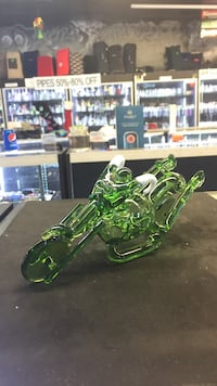 Motorcycle hand pipe