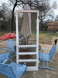 Old screen door