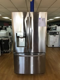 BRAND NEW LG stainless steel SMART French door refrigerator with WIFI enabled