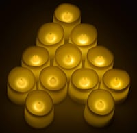 12- Pack Flickering Candles Piscataway Township