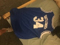 blue and white Los Angeles Lakers jersey Lubbock, 79411