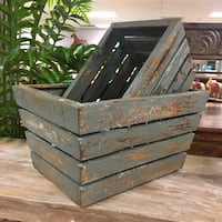 Wooden Storage Crates Doral, 33172