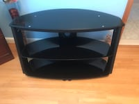 "Tv stand (glass) holds up to a 47"" tv  Toronto, M6L 2E4"