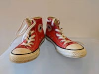 Boys Red Converse All Stars  Matthews, 28105