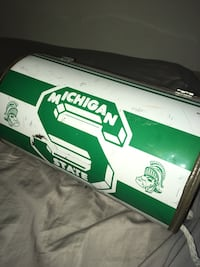 Michigan state Spartans vintage lunch box
