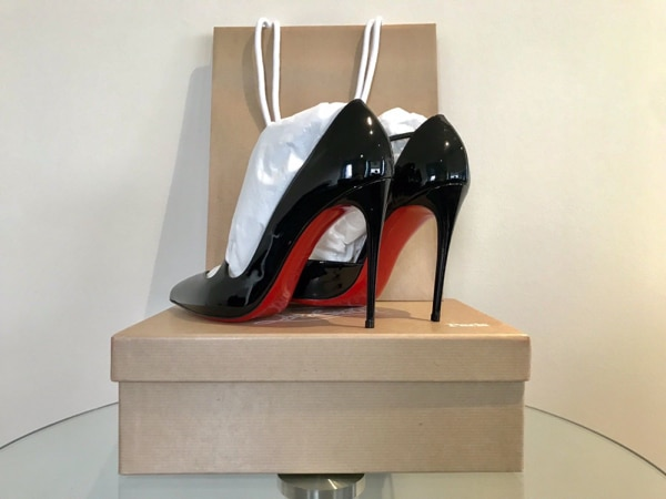 official photos c21af 7711f Used Christian Louboutin Jumping 100mm *Firstdate for sale ...