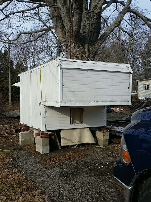 Used White Wooden Camper Trailer For Sale In South Kingstown Letgo