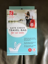 New!! GATE CHECK TRAVEL BAG FOR CAR SEATS