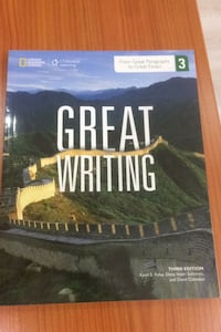 National Geographic Great Writing 3 third ed. with access code Fatih, 34110