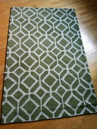 Green area rug Annandale