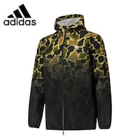 black and brown camouflage zip-up jacket Falls Church, 22041