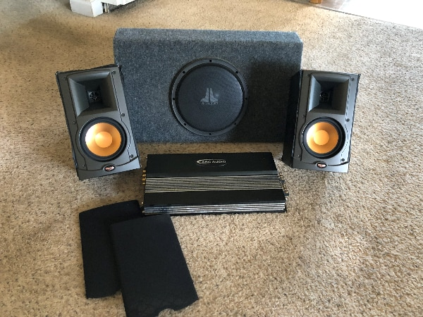 Used High Performance Car Sterio ARC Audio/Klipsch for sale in