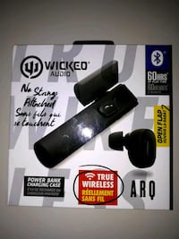 WICKED AUDIO WIRELESS BLUETOOTH EARBUDS  Toronto, M6L 1B5