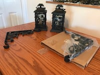 Set of Longaberger Wrought Iron Lanterns (2) 68 km