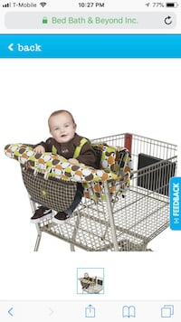 Jeep shopping cart cover