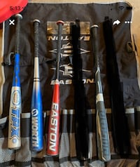 Baseball bats just four available! Make an offer want them gone Chilliwack, V2R 3J7