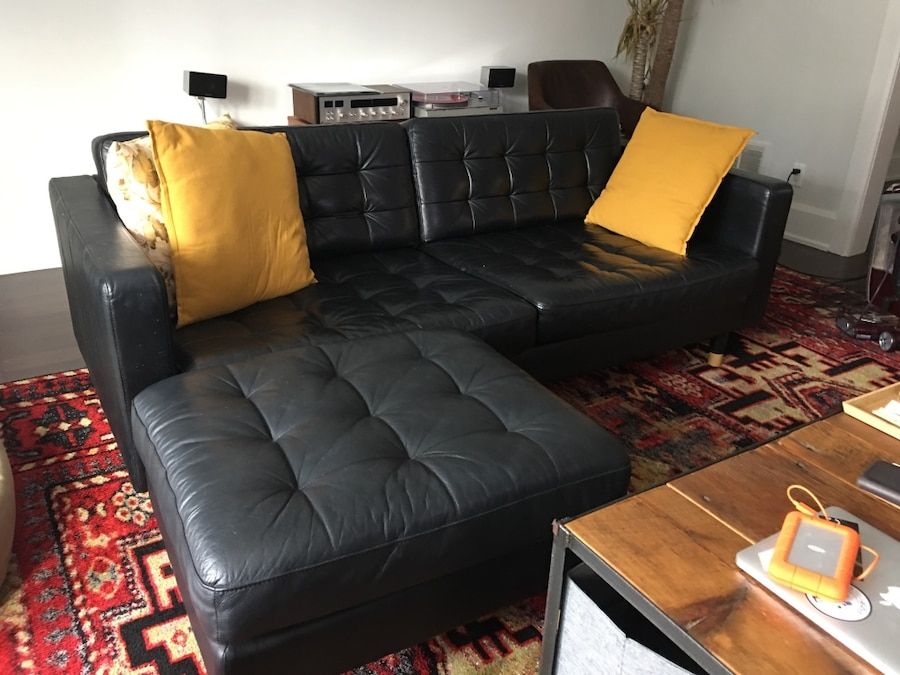used ikea landskrona couch and ottoman for sale in toronto letgo rh ca letgo com