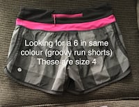 ISO of groovy run shorts size 6  Red Deer, T4P 4E4