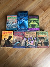 HARRY POTTER Brand New Collection-Hard Covers + Cassettes Jersey City, 07305