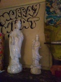 Pair of oriental statues.  Surrey, V3Z